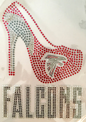 Atlanta Falcons Rhinestone Digital File