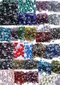 ss6,ss10,ss16,ss20,ss30 Crystal Volcano Color DMC Flatback Crystals Hot Fix Rhinestones,Garment Stones Best Glue