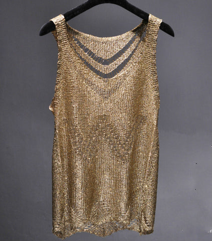 Ssexy blingbling sequines tank tops
