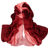FS Women Silk Satin Scarf Luxury Brand Scarves Wraps Echarpe Pashmina