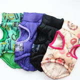 Fine joy New Winter Pet Dog Clothes For Small Dogs Warm Down Jacket Waterproof Dog Coat Thicker Cotton Clothing For Chihuahua