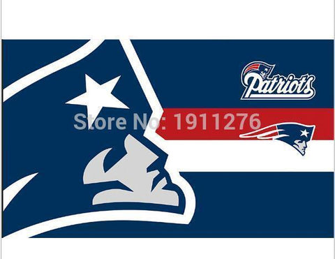 New England Patriots flag 3 X 5 FT  NFL banner flags