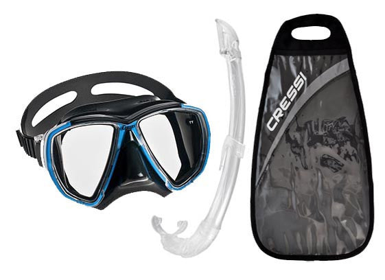 Kit de Máscara e Snorkel