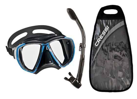 Kit Máscara e Snorkel Big Eyes Dry