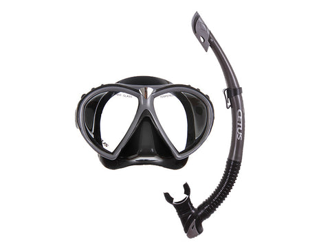 Kit Máscara e Snorkel Rapallo