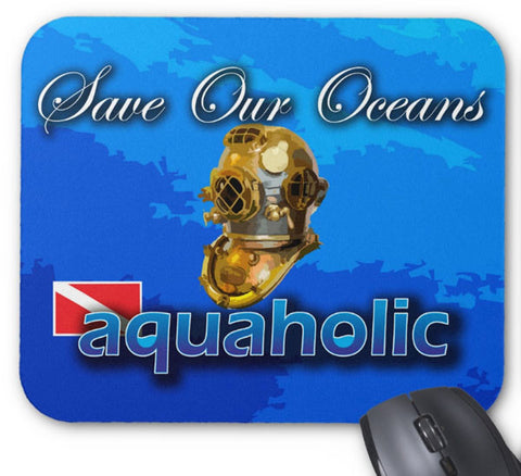 Mousepad Mark-V Aquaholic