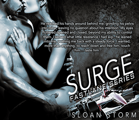 Surge: Bad Boy Racing Romance (Fastlane Series)