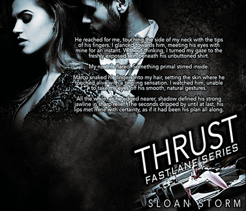 Thrust: Bad Boy Racing Romance (Fastlane Series)