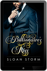 Image of Billionaire's Kiss (Never Never Man Series Book 3)