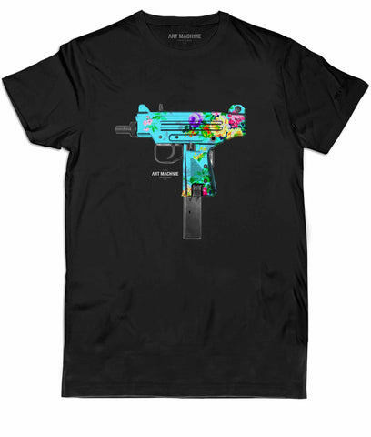 ART MACH1NE Uzi Tee Black