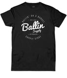 BALLIN SUPPLY Logo Tee Black