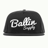 Ballin Supply Snapback Black