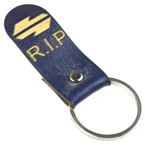 City Rail Tomb Stone Key Ring - Ballin' On A Budget Supply Store