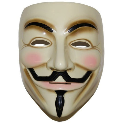 Guy Fawkes Mask - Ballin' On A Budget Supply Store