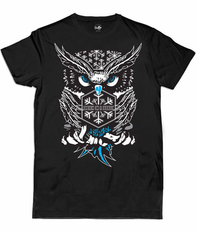 BALLIN SUPPLY Owl Tee Black