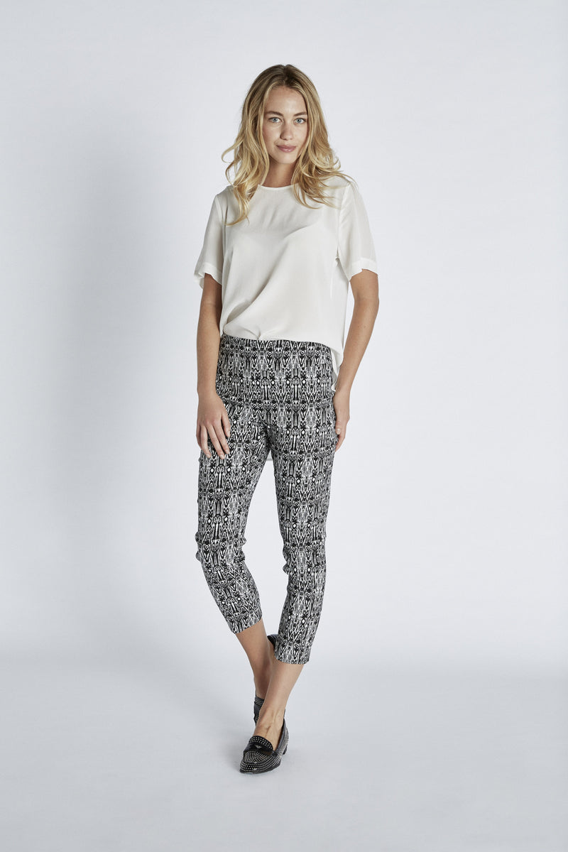 13801 Ankle INCA PRINT -  - Pants - Lisette L Montreal Australia - The Rarity Group