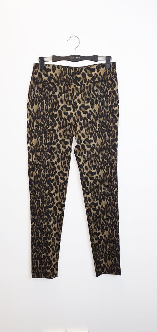 58844 Thinny MECO LEOPARD -  - Pants - Lisette L Montreal Australia - The Rarity Group