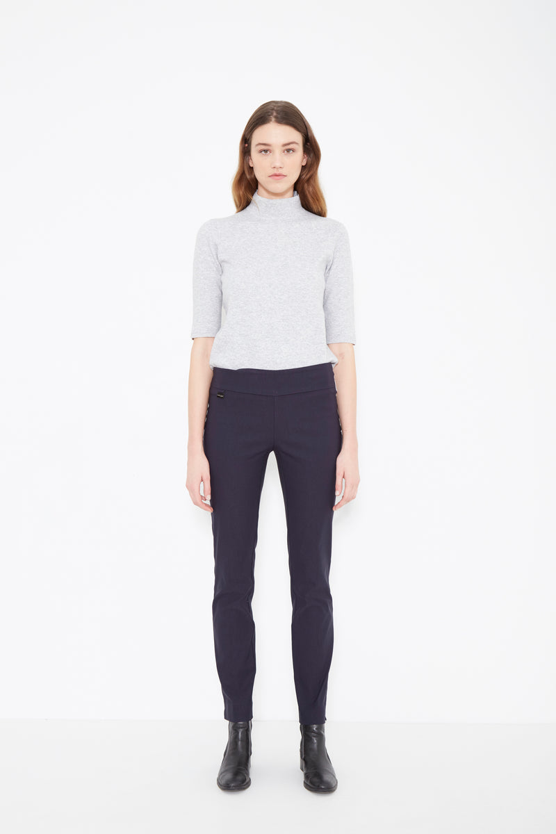 805 Slim NAVY -  - Pants - Lisette L Montreal Australia - The Rarity Group