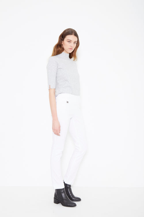 805 Slim WHITE -  - Pants - Lisette L Montreal Australia - The Rarity Group
