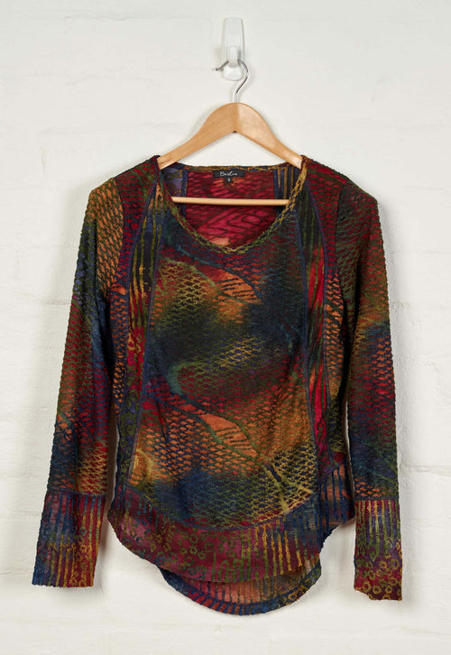 B1514 L/S Round Neck Top -  - Top - BERLIN - The Rarity Group