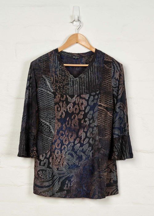B1546 L/S V Neck Top -  - top - BERLIN - The Rarity Group