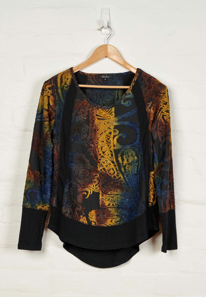 B1551 L/S Round Neck Top -  - Top - BERLIN - The Rarity Group