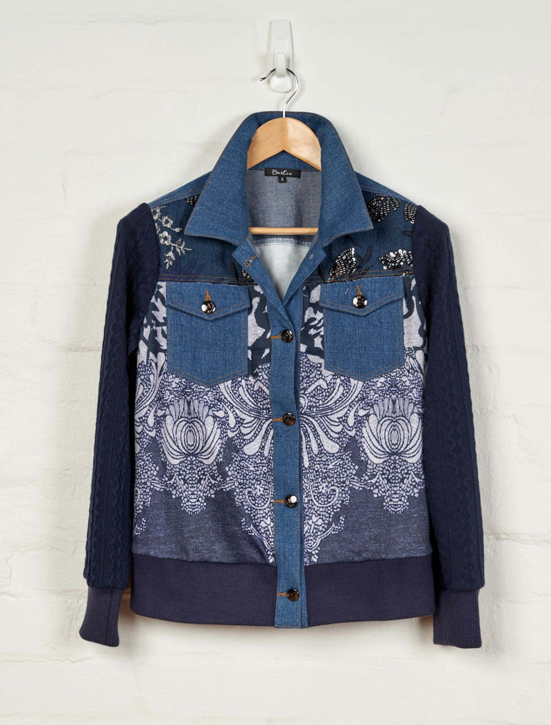 B1554 Denim Jacket -  - Jacket - BERLIN - The Rarity Group