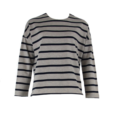 B670 2 Zip Striped Sweater - The Rarity Group