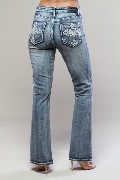 T0093B Vienna BOOTCUT -  - Jeans - TRU LUXE - The Rarity Group