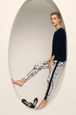 618396 High/Low FUN PARTY PRINT -  - Pants - Lisette L Montreal Australia - The Rarity Group