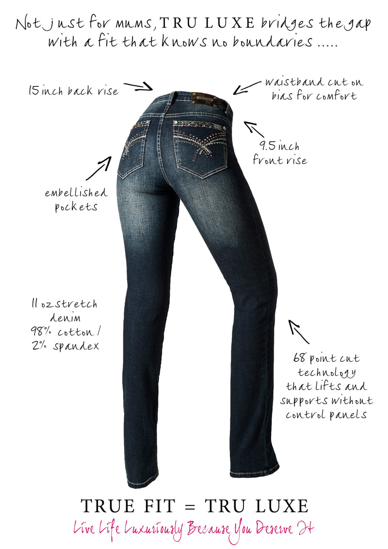 T0056B Athens BOOTCUT -  - Jeans - TRU LUXE - The Rarity Group