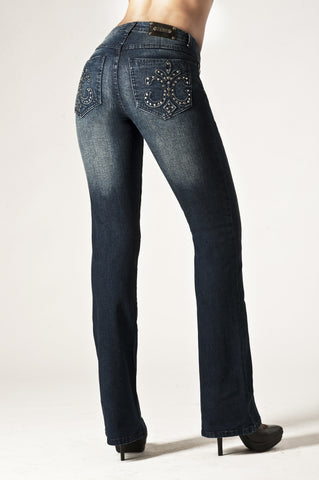 T0019B Florence BOOTCUT -  - Jeans - TRU LUXE - The Rarity Group