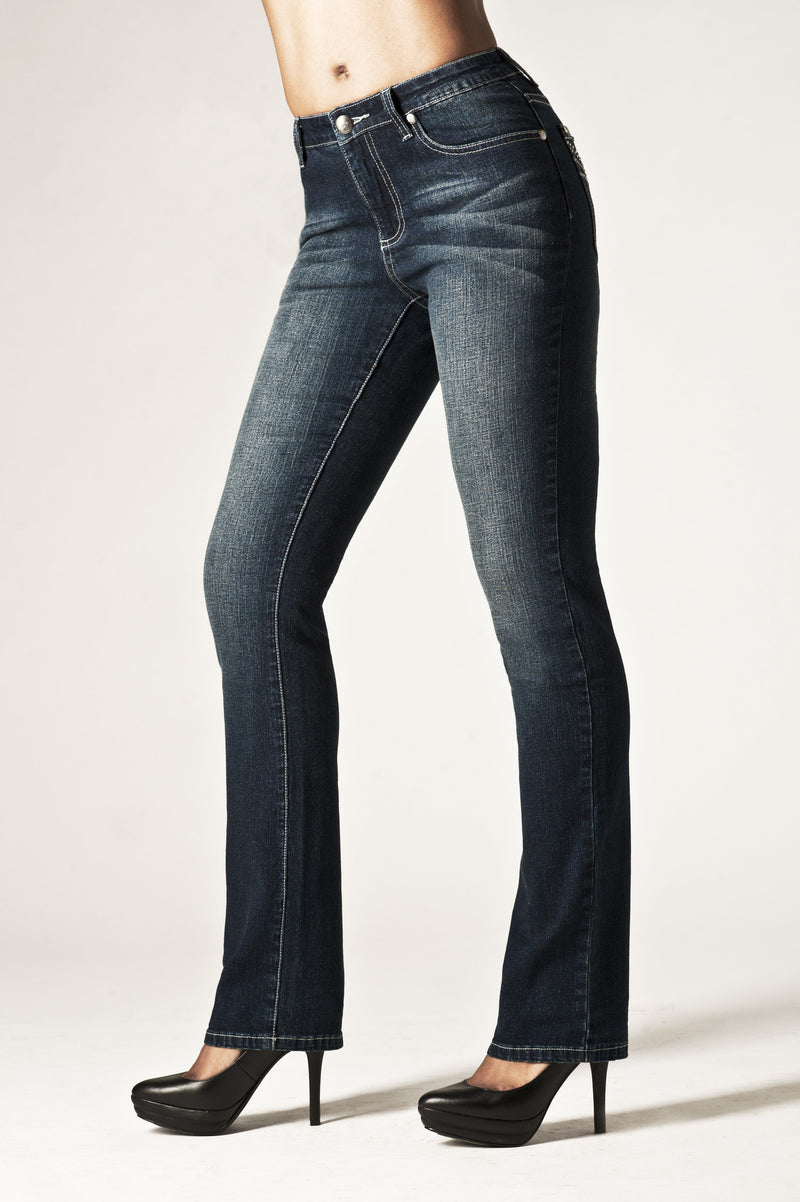 T0050S Sydney STRAIGHT -  - Jeans - TRU LUXE - The Rarity Group
