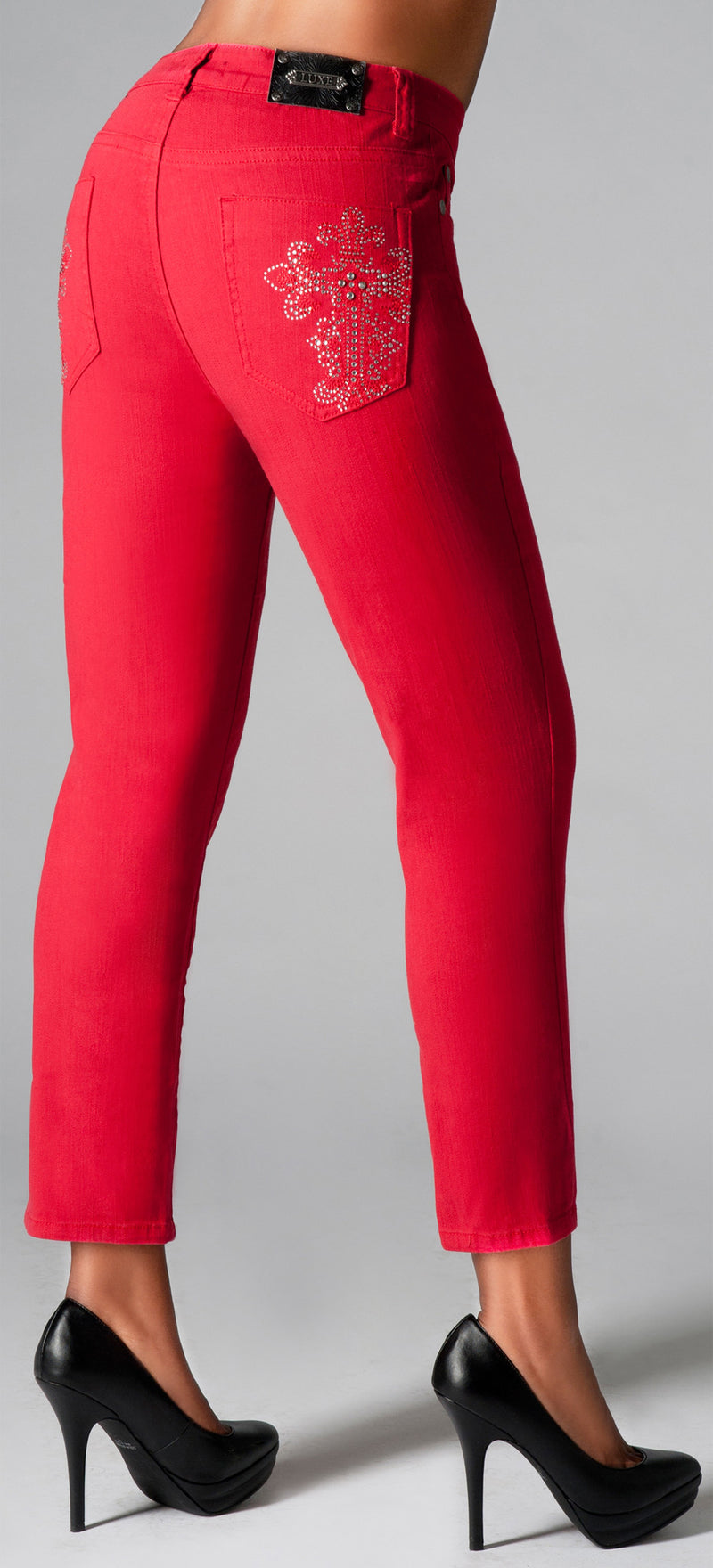 T0056A Athens SKINNY CROP -  - Jeans - TRU LUXE - The Rarity Group