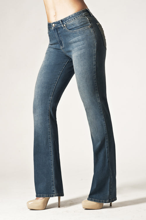 T0057B Luxembourg BOOTCUT -  - Jeans - TRU LUXE - The Rarity Group