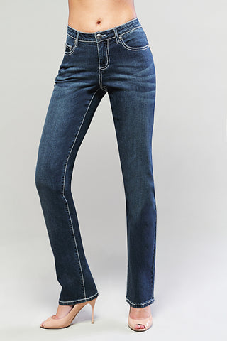 T0072S Toronto STRAIGHT -  - Jeans - TRU LUXE - The Rarity Group