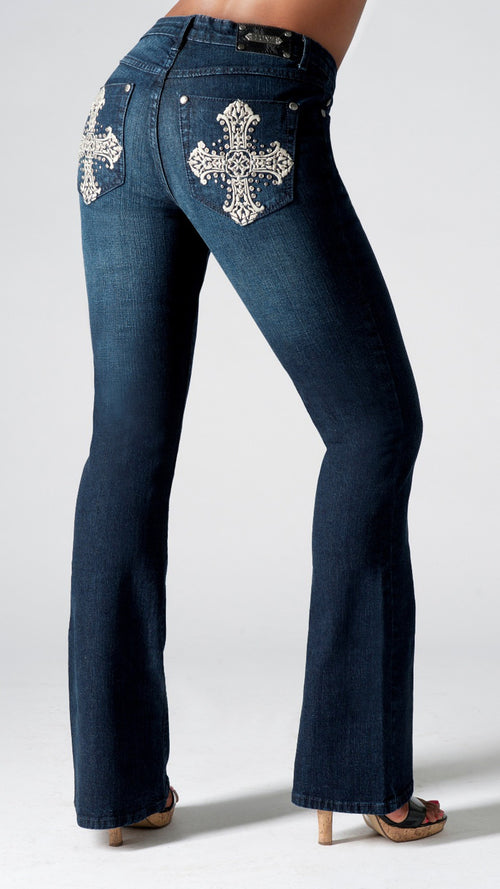 T0081B Seville BOOTCUT -  - Jeans - TRU LUXE - The Rarity Group