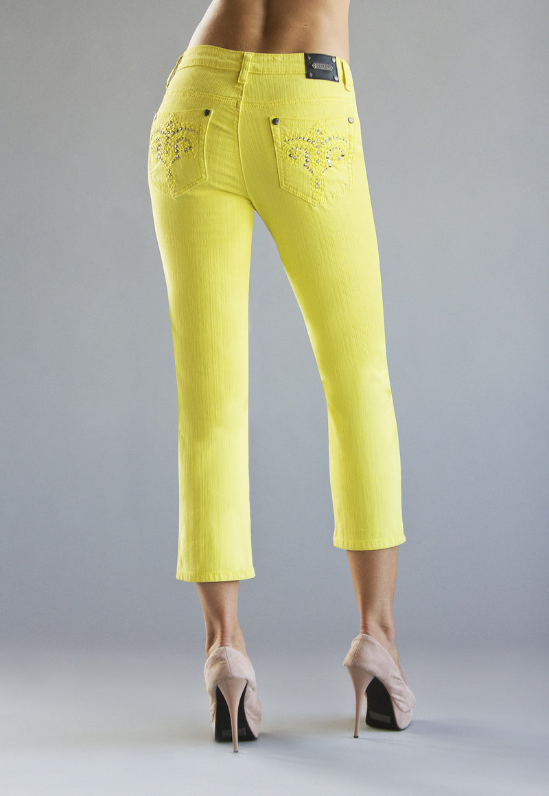 T0122A San Jose CROP -  - Jeans - TRU LUXE - The Rarity Group