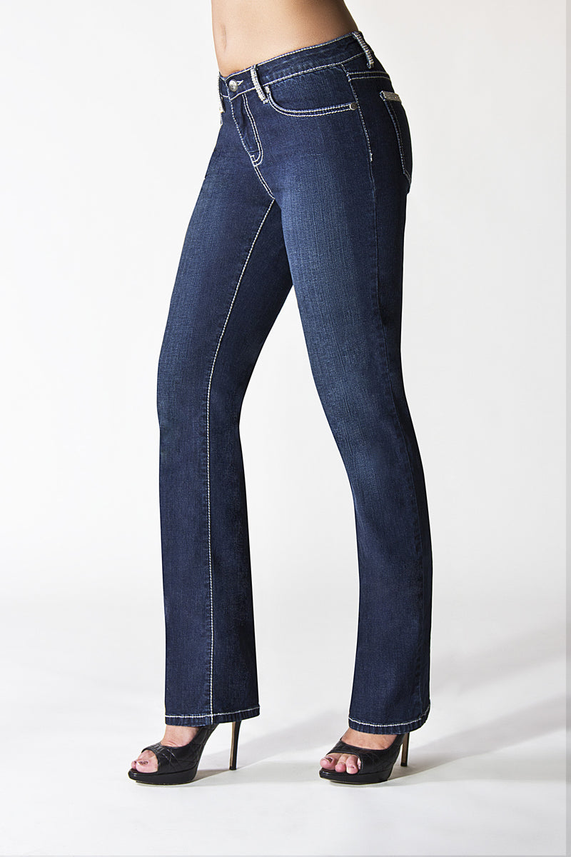 T0131S Beverly Hills STRAIGHT -  - Jeans - TRU LUXE - The Rarity Group