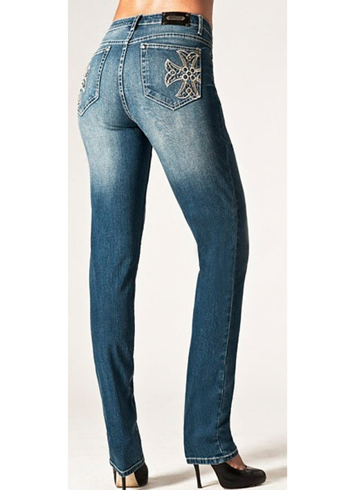 T0068K Rio De Janeiro SKINNY -  - Jeans - TRU LUXE - The Rarity Group