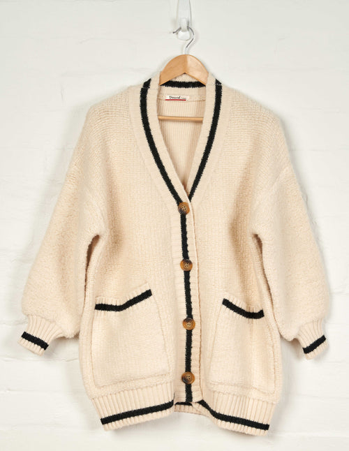 D214 Oversized Campus Cardigan -  - Jumper - BERLIN - The Rarity Group