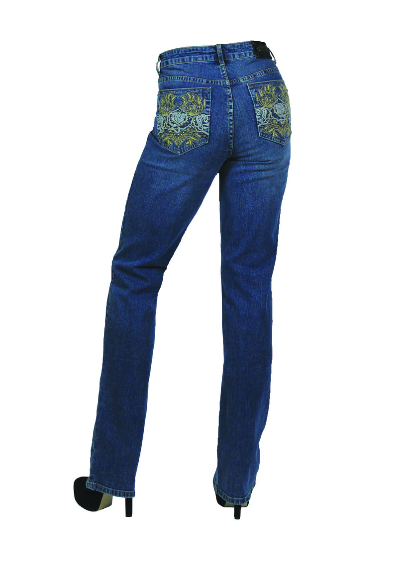 T0186S Abilene STRAIGHT -  - Jeans - TRU LUXE - The Rarity Group