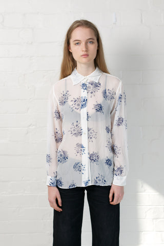 SAY IT WITH FLOWERS SILK SHIRT