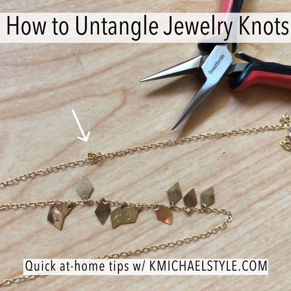 How to Untangle Jewelry Knots