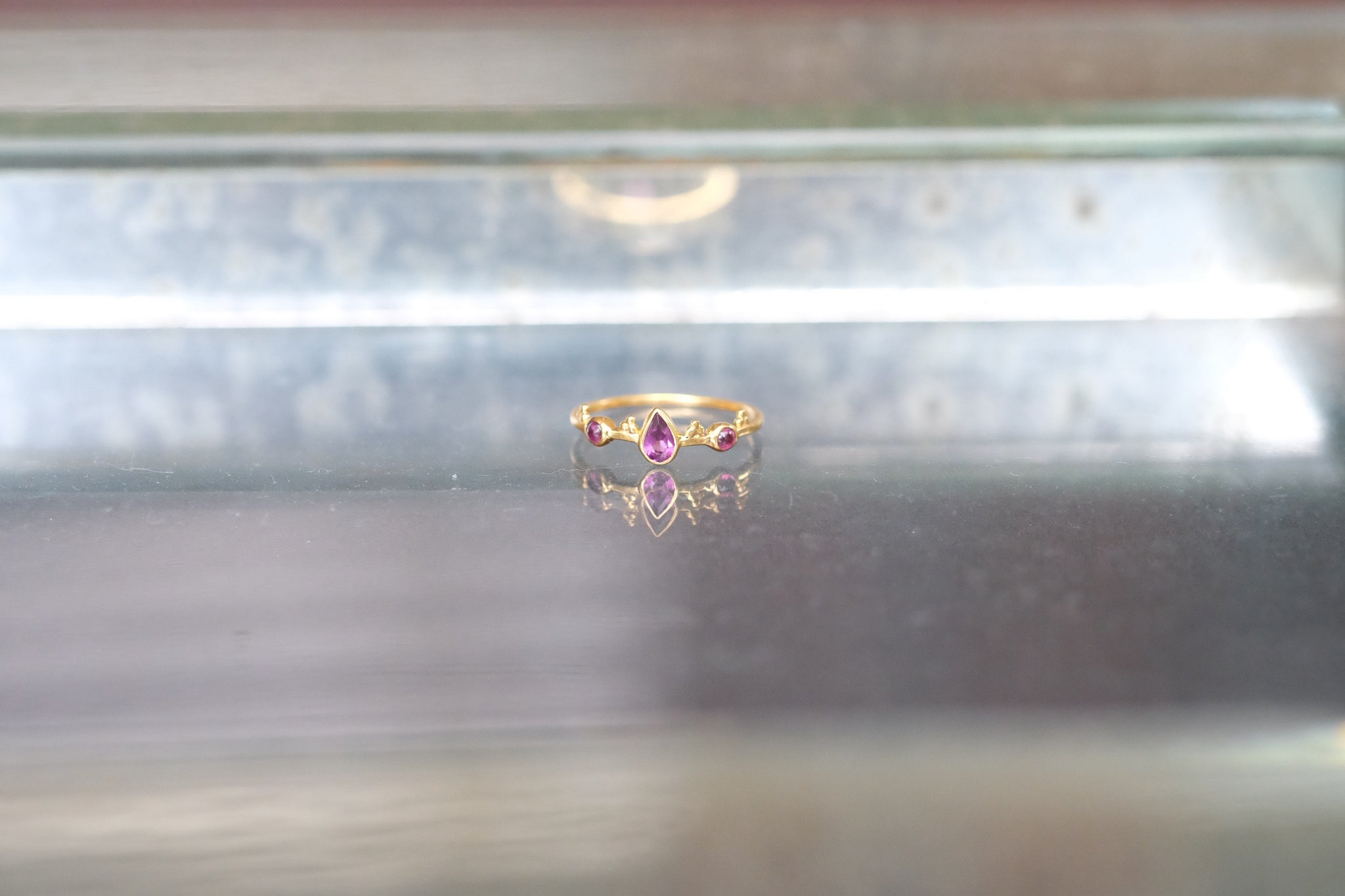 'PINKING OF YOU' RING