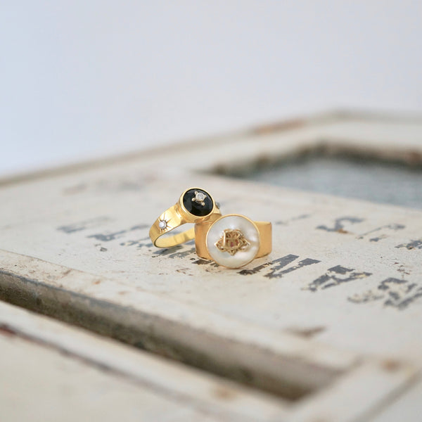 'AFTER DARK' RING