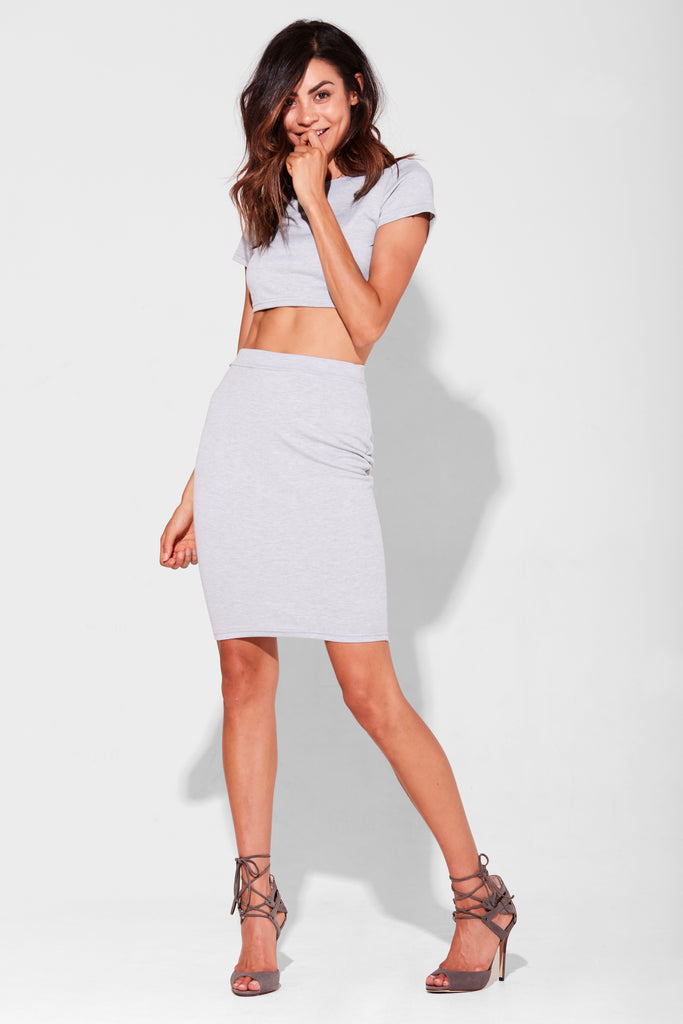 'ARLO COMBO' SKIRT & CROP