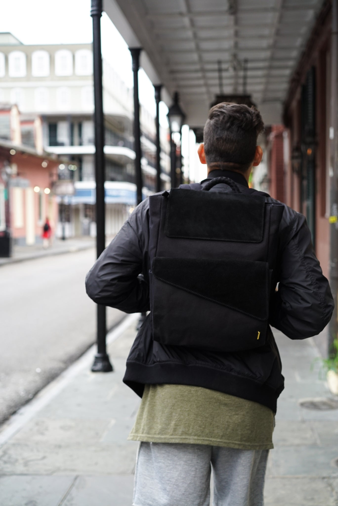 TSOG Modern Travel Montreux Backpack New Orleans French Quarter