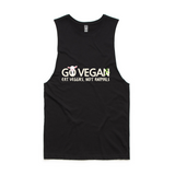 Vegan tank top inspiring others to go plant-based by Indigo Vegan.