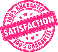 100 percent customer satisfaction guarantee